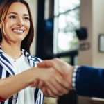 law student interview handshake
