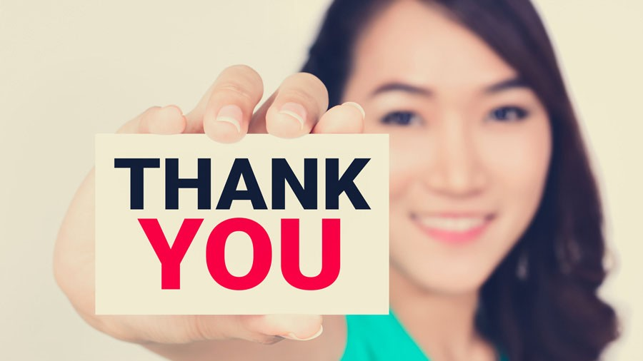 Pack A Professional Punch With Your Thank Yous Aba For