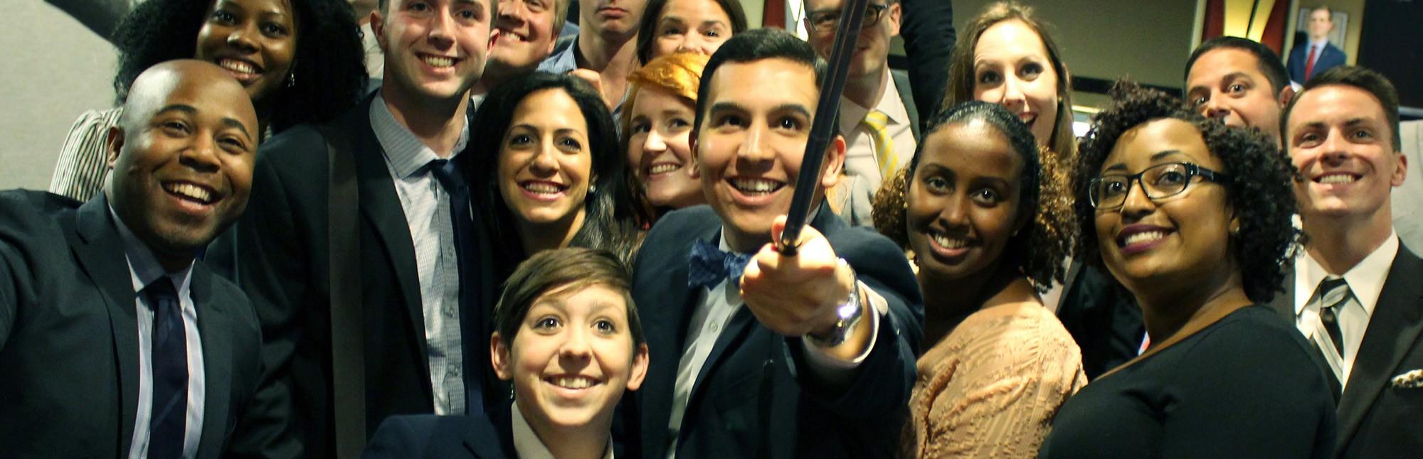 ABA Law Student Board Selfie