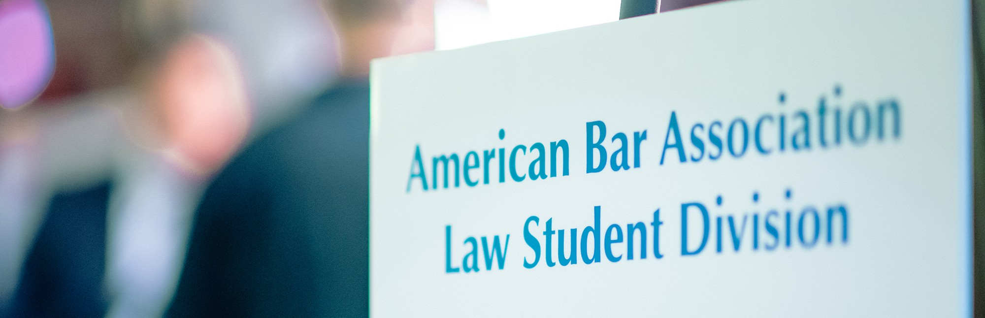 ABA Law Student Division Sign