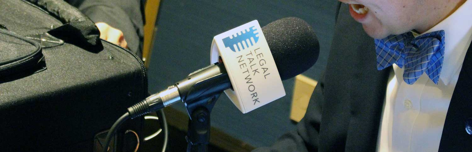 Legal Talk Network microphone