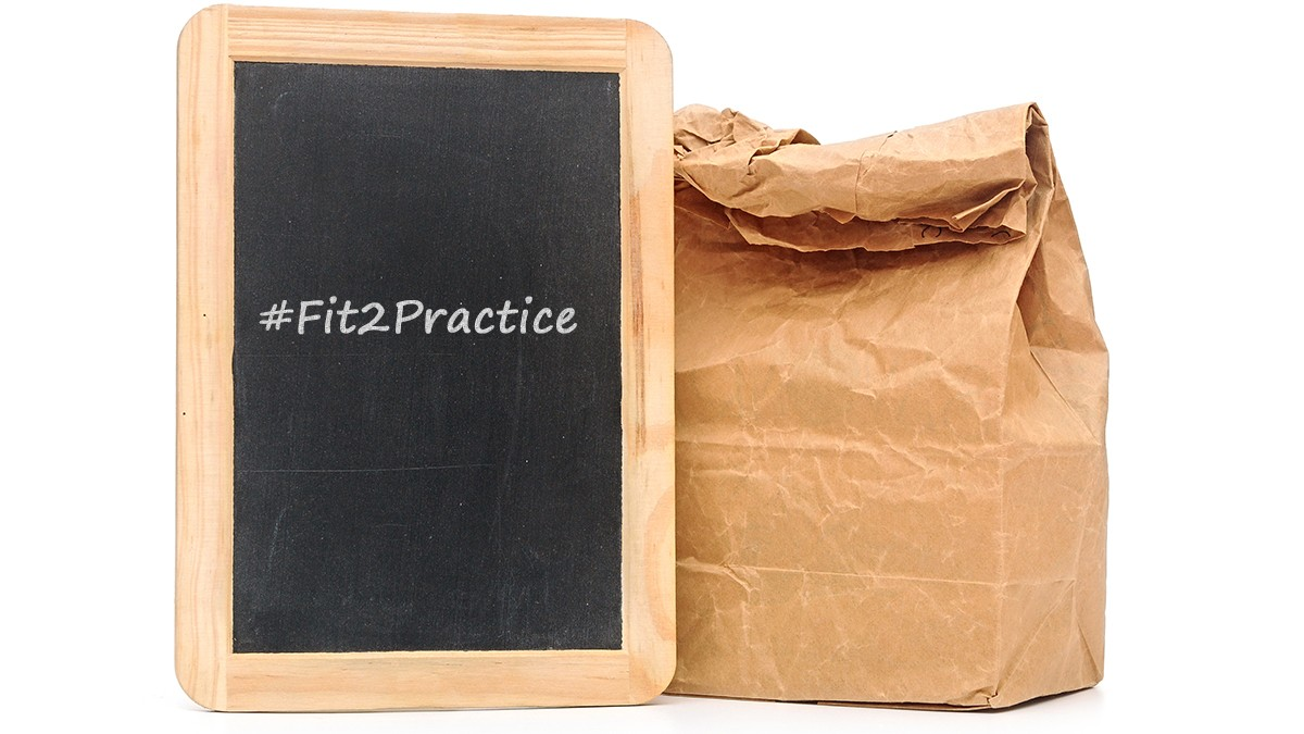 Fit2Practice and Brown Bag event