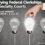 Find out more about clerkships with this January webinar