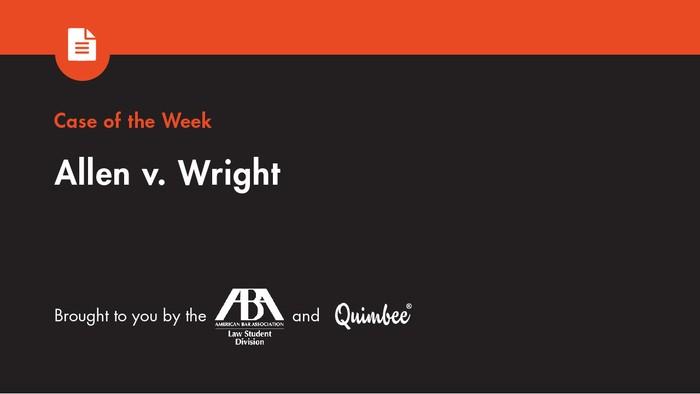 Quimbee Allen v. Wright