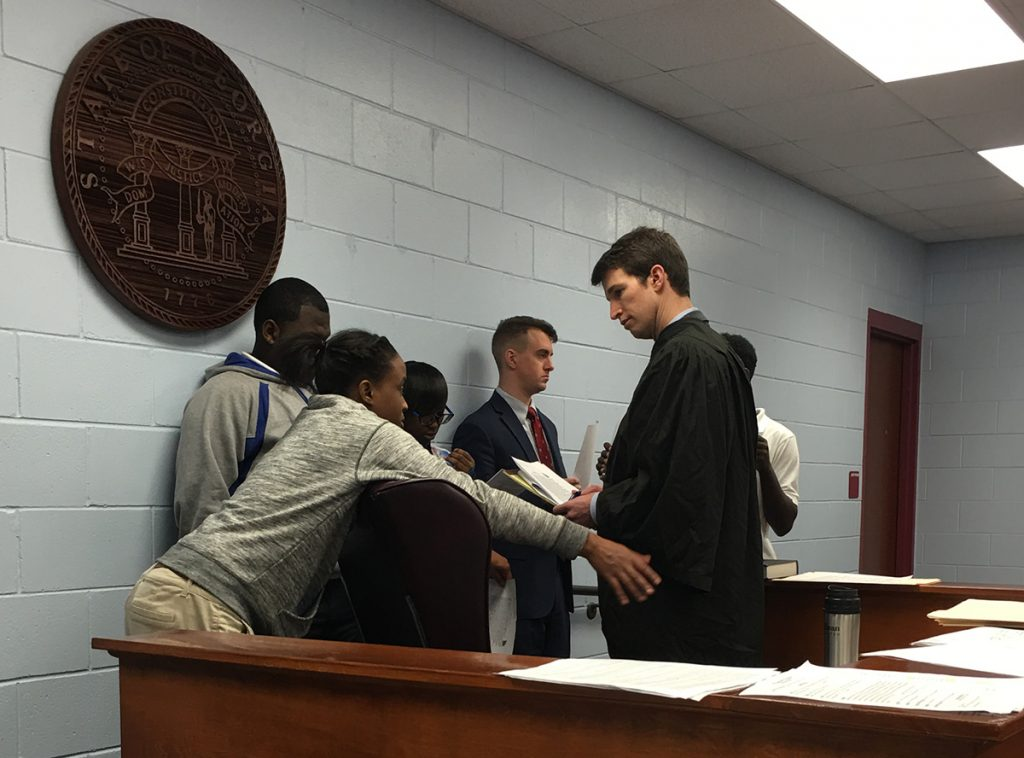 Street Law: Courtroom