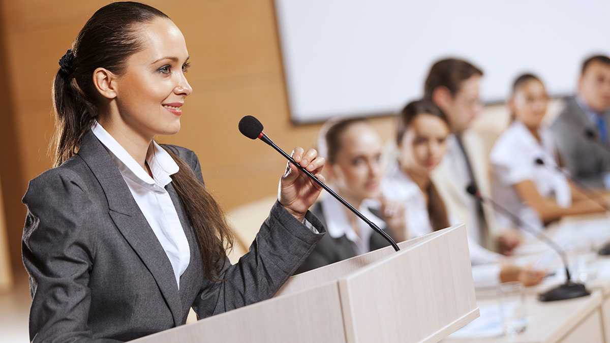 Confident speech starts with body control - ABA for Law Students