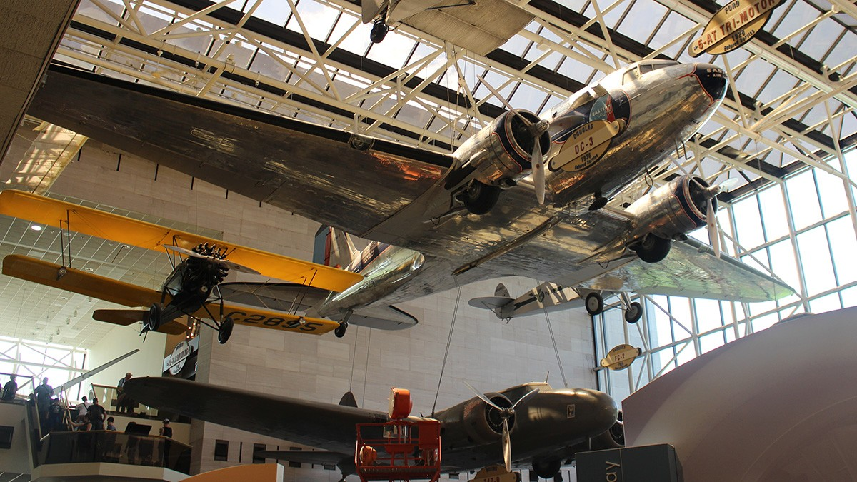 Airplanes at the Smithsonian