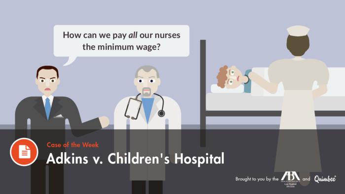 Quimbee Adkins vs. Children's Hospital