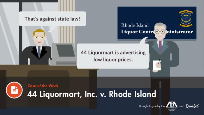 Quimbee 44 Liquormart v. Rhode Island