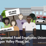 Amalgamated Food Employees Union Local 590 v. Logan Valley Plaza