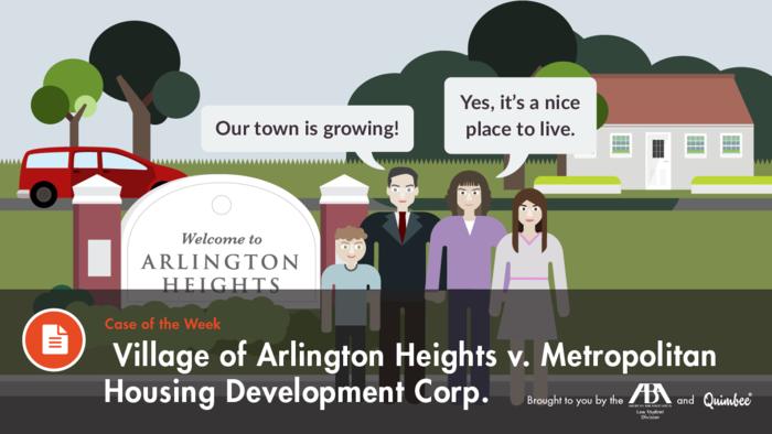 Village of Arlington Heights v. Metropolitan Housing Dev. Corp.