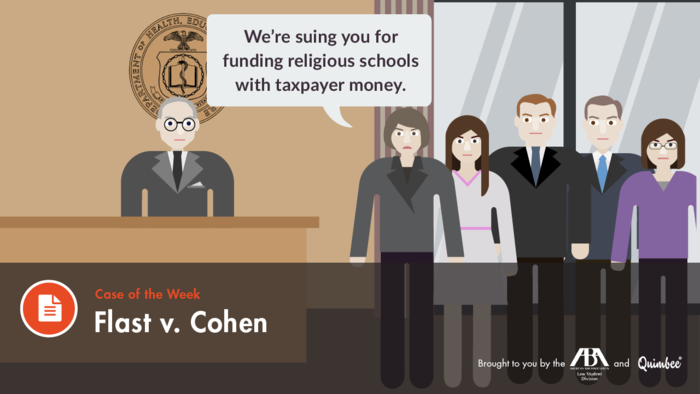 Quimbee - Flast v. Cohen
