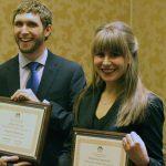 Jeffrey Wysong and Mackenzie Drutowski