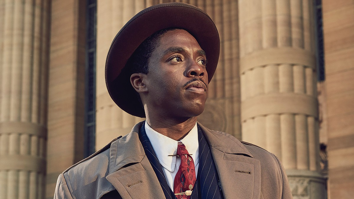 Chadwick Boseman as Thurgood Marshall