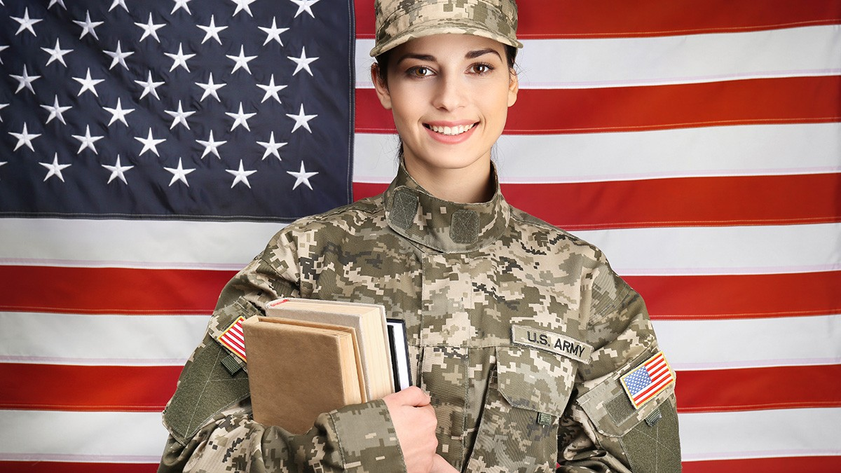 Soldier with Books