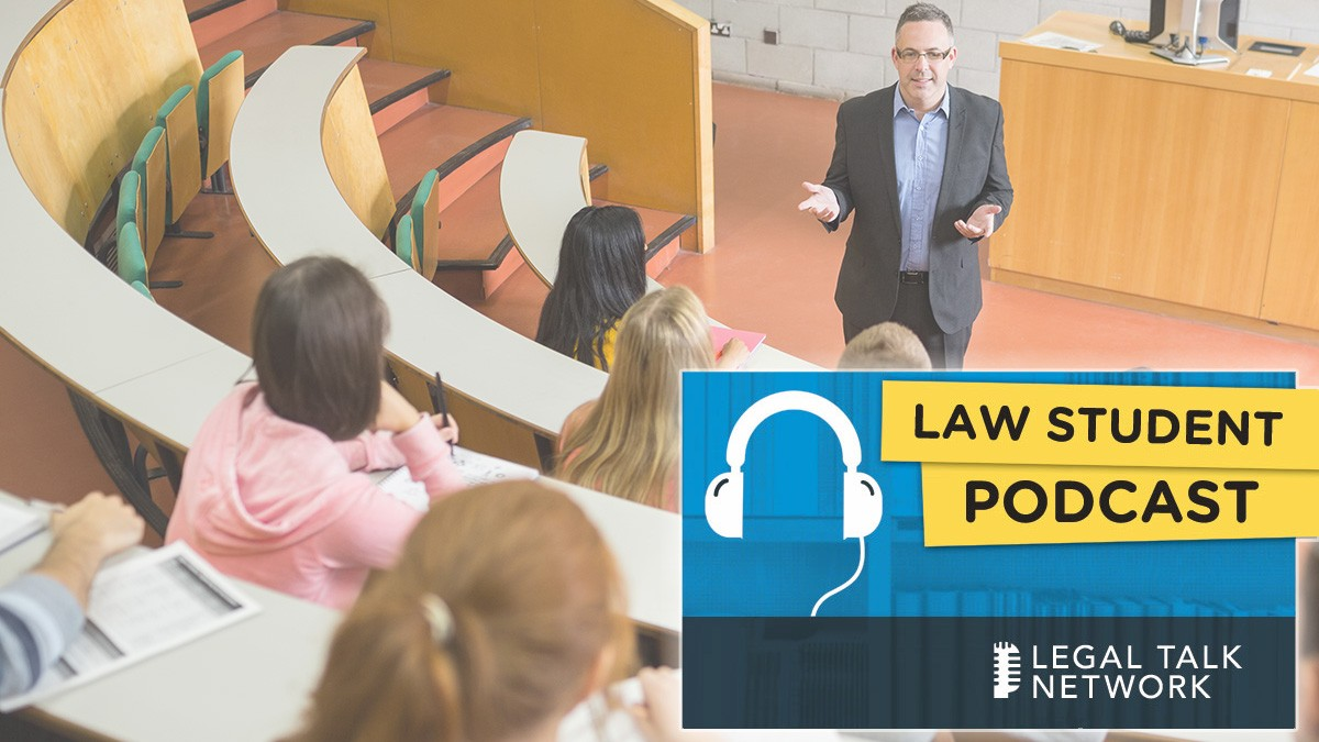 Law Student Podcast Benjamin Davis