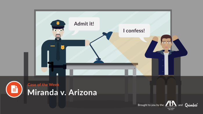 an analysis of mirandas case in arizona supreme court from 1965 Presentation on a famous legal case: miranda vs arizona 1 law mcr miranda v arizona by imaan virani and maya koparkar  1965- us supreme court trial writ of certiorari: review of case 15 legal issue  miranda vs arizona presentation sk_just2121 miranada v arizona(2) marcus hurt.
