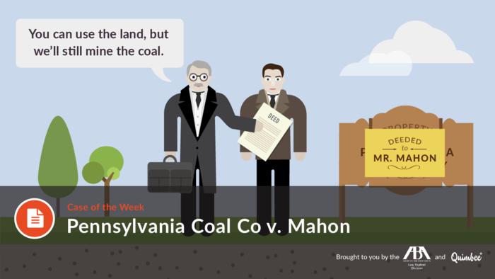 Quimbee Pennsylvania Coal v Mahon