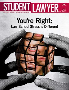 Student Lawyer Spring 2018 Cover