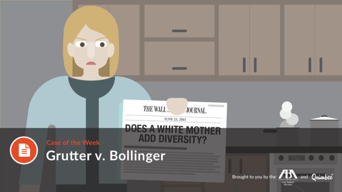 Grutter v. Bollinger