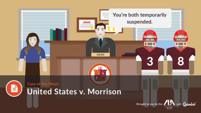 us v morrison Start studying us v morrison learn vocabulary, terms, and more with flashcards, games, and other study tools.