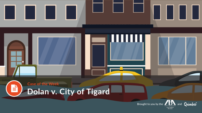 Quimbee: Dolan v. City of Tigard