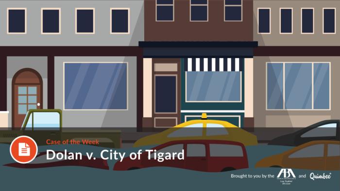 Quimbee: Dolan v. City of Tigard
