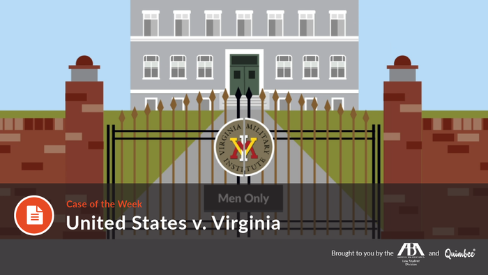 Quimbee: United States v. Virginia