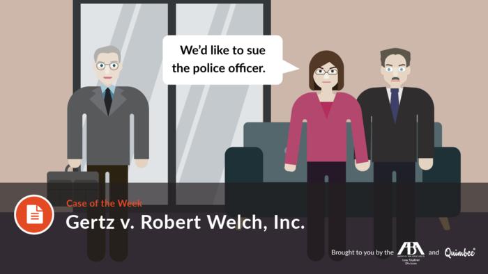 Gertz v. Robert Welch, Inc.