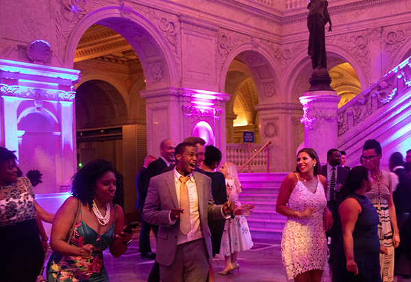 dinner dance at the library of congress