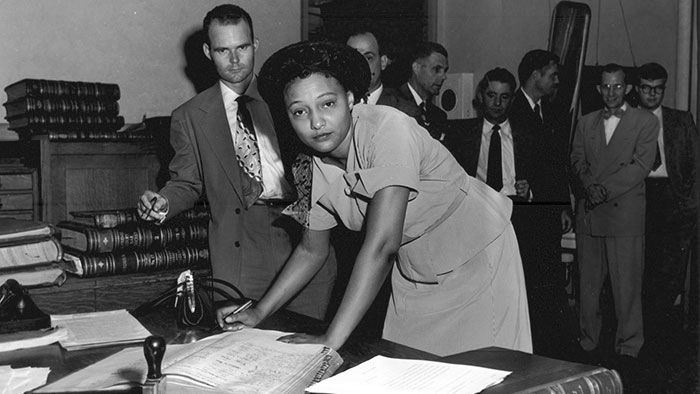 Ada Lois Sipuel Fisher and the Road to Brown v. Board of Education