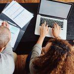 Working on Public Service Loan Forgiveness Paperwork