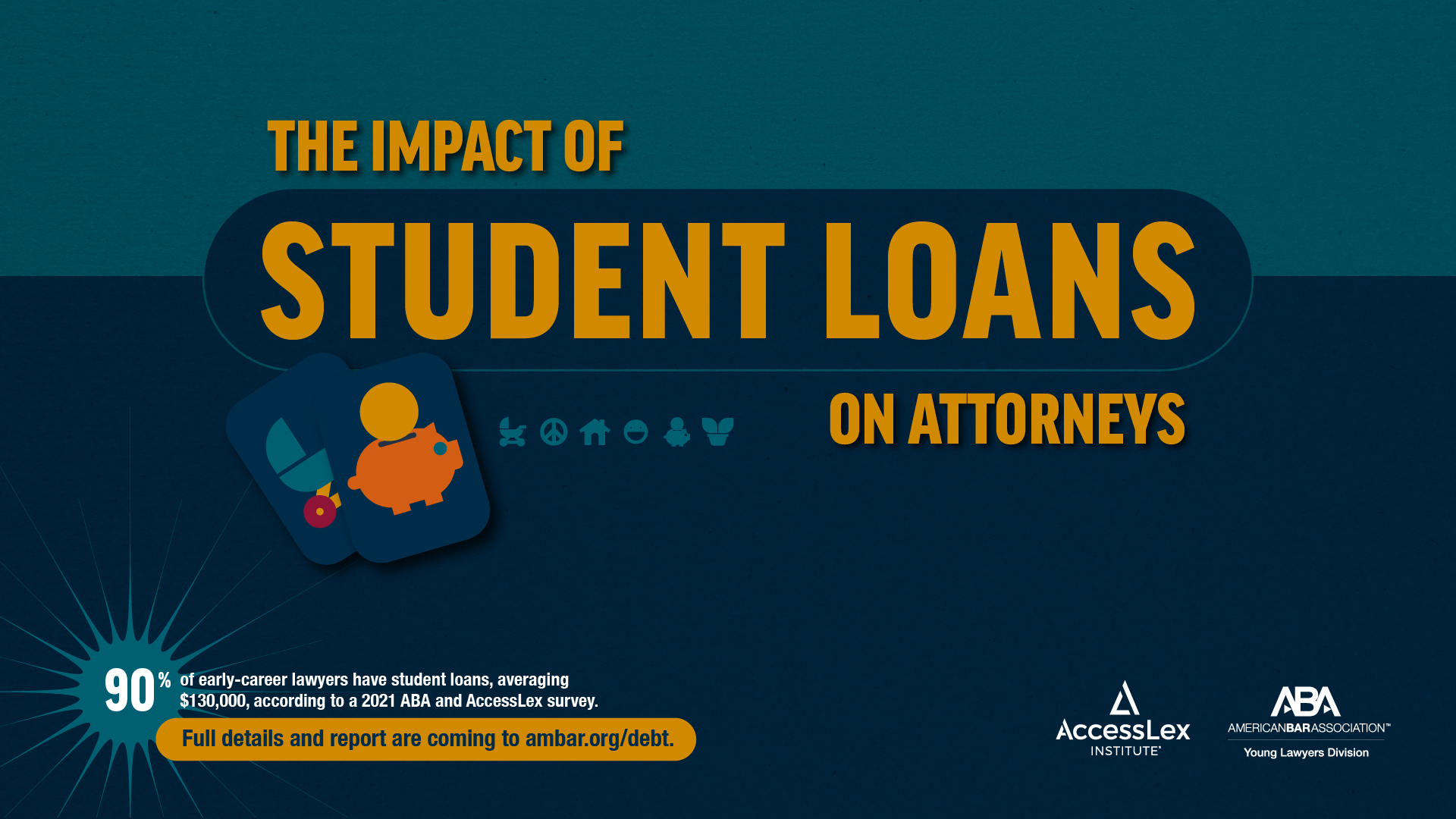 2021 impact of student loans on attorneys (cover page)