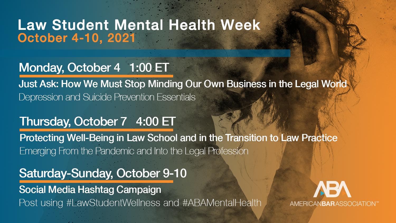 Mental Health Week 2021